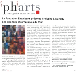 Article Pharts Magazine, juillet 2015