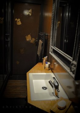salle de bains - rendu stucco