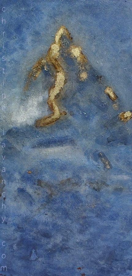 Cervin bleu